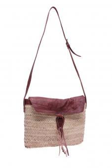 Original Marokko Umhängetasche Palmblattgeflecht