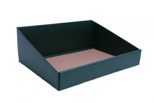 Verpackungsschale aus Karton Grün 40x32x15 cm