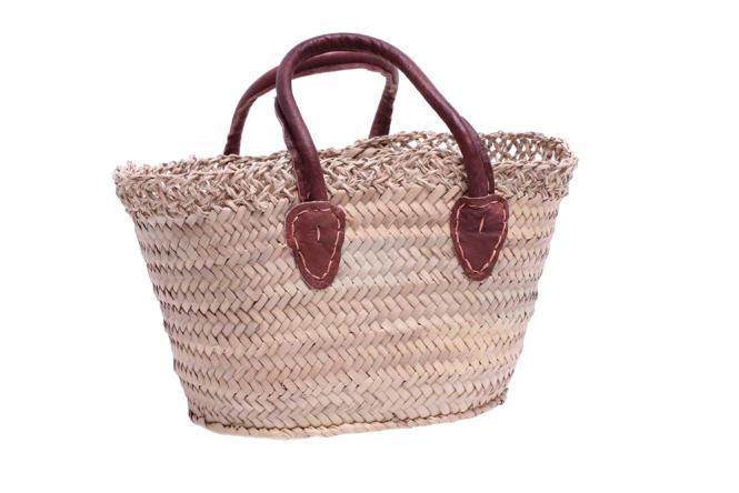Original Marokko Kinder-Tasche Palmblattgeflecht