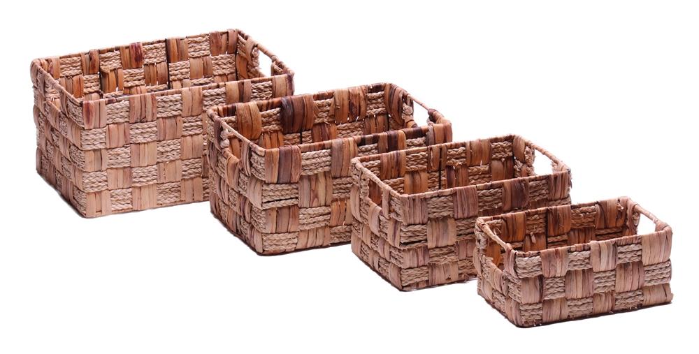 korb ablagekorb seegras 4er set online kaufen. Black Bedroom Furniture Sets. Home Design Ideas
